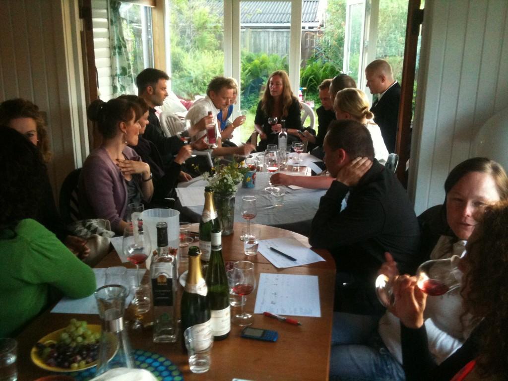 Summer houses wine tasting